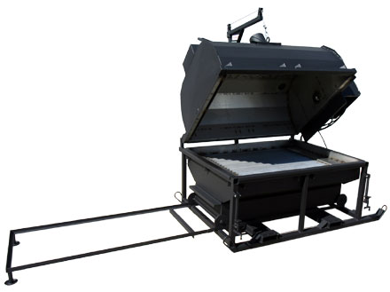 Phoenix Model 6045cs animal carcus incinerator. Safely dispose of infected poultry and other animals.